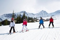 Best ski resorts for ski convenience - Courchevel, France