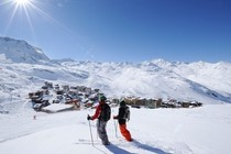 Best ski resorts for mixed abilities - Val Thorens, France