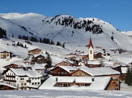 Snowiest ski area in the Alps - Warth-Schröcken, Austria