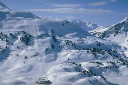 Warth-Schröcken ski area, Austria