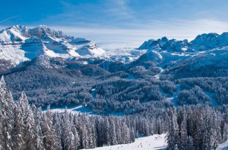 Weatherproof slopes, Madonna di Campiglio, Italy