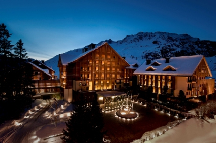 5 star luxury hotel The Chedi Andermatt, Switzerland