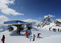 Best ski resorts for leisurely cruising - Cervinia, Italy