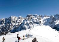 Best ski resorts for leisurely cruising - Madonna di Campiglio, Italy