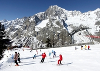 Best ski resorts for short transfers - Courmayeur, Italy