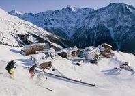 Best ski resorts for short transfers - Sölden, Austria
