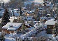 Best ski resorts for short transfers - Megève, France