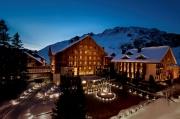 Luxury 5 star hotel the Chedi Andermatt, Switzerland