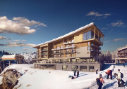 New luxury 5 star hotel for Les Arcs - Hotel Taj-I Mah, Arc 2000, France