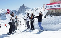 Best ski resorts for mixed abilities - Courchevel, France