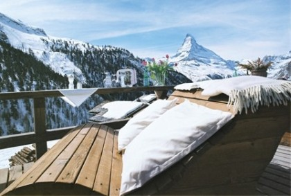 Chez Vrony in Findeln, Zermatt, Switzerland