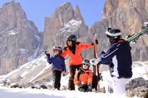 Best ski resorts for families - Ortisei, Italy