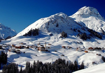 Best ski resorts for ski convenience - Warth-Schröcken, Austria