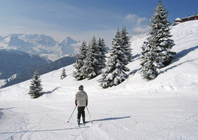 Best ski resorts for leisurely cruising - Corvara, Italy
