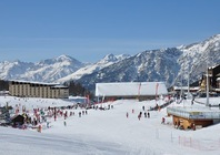 Best ski resorts for leisurely cruising - Montgenèvre, France