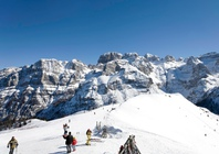 Best ski resorts for leisurely cruising - Madonna di Campiglio, Italy