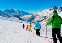 Best ski resorts for short transfers - Chamonix, France