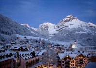 Best ski resorts for short transfers - Engelberg, Switzerland