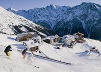 Best ski resorts for short transfers - Sölden, Austria