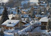 Best ski resorts for short transfers - Megève, France