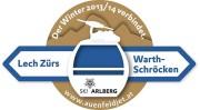 Lech links to Warth-Schröcken, Austria