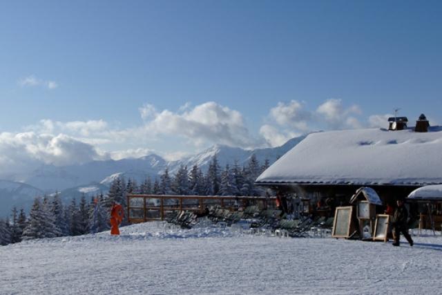 Megève, France - Best ski resorts for mountain restaurants