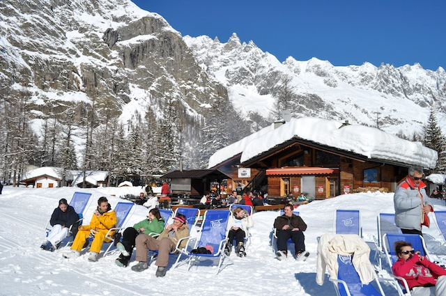 Courmayeur, Italy - Best ski resorts for mountain restaurants