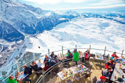 Snow-wise - Our complete guide to Chamonix - Mountain restaurants in Chamonix