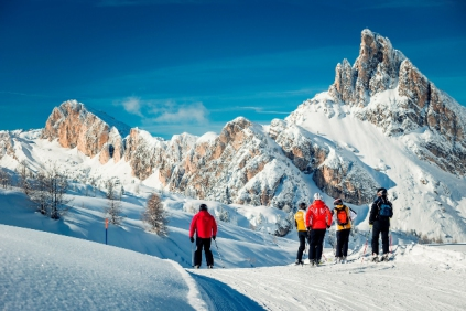 Snow-wise - Our complete guide to Cortina - Cortina for beginner skiers