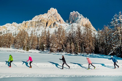 Snow-wise - Our complete guide to Cortina - Cortina for cross country skiers