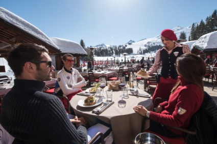 Snow-wise - Our complete guide to Courchevel - Courchevel's mountain restaurants