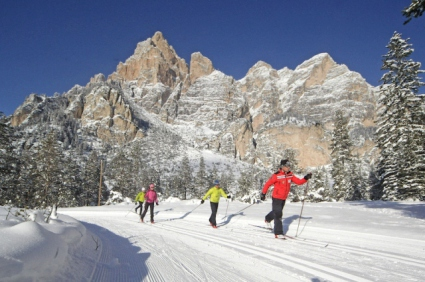 Snow-wise - Our complete guide to Colfosco - Colfosco for cross country skiers