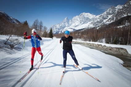 Snow-wise - Our complete guide to Courmayeur - Courmayeur for cross country skiers