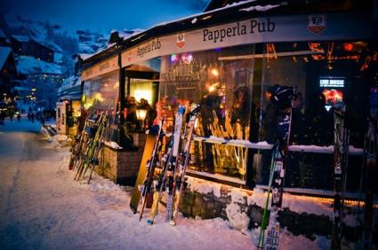 Snow-wise - Our complete guide to Zermatt - Zermatt's après-ski - Papperla Pub
