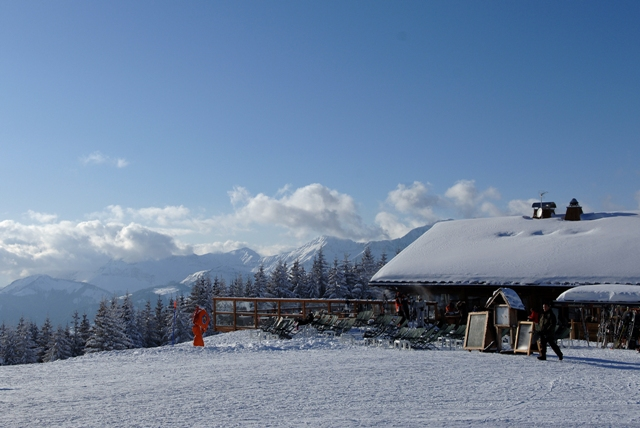 Megève, France - snow-wise - Best ski resorts for mountain restaurants