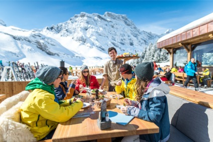 Snow-wise - Our complete guide to Engelberg, Switzerland -  Mountain restaurants in Engelberg