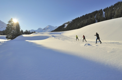Our complete guide to Lech-Zürs, Austria - Lech-Zürs for cross country skiers