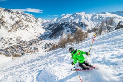 Snow-wise - Our complete guide to Val d'Isère, France - Val d'Isère's snow record