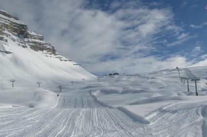 Lech, Austria – 4 February 2020