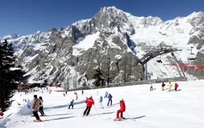 Courmayeur, Italy - Best ski resorts for short ski breaks