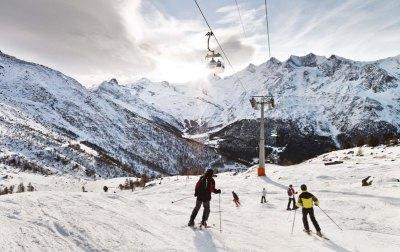 Saas-Fee, Switzerland - Snow-wise - Best ski resorts for snow reliability